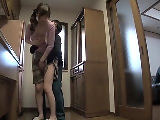 Amazing Japanese whore in Best Mature JAV clip
