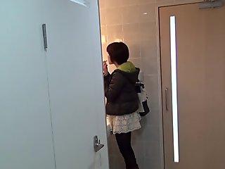 Japanese babes gush urine