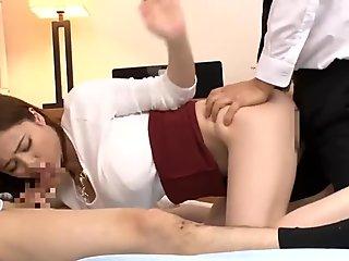 Aimi Yoshikawa NHDTB-051 A Beautiful Wife   s Blowjob That She Got Licked