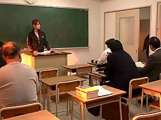Horny Japanese model in Amazing Hardcore, Teens JAV movie