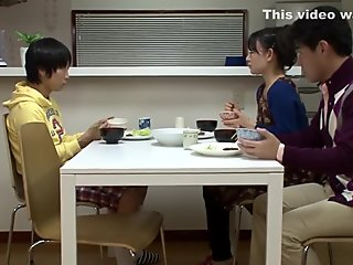 Crazy Japanese whore in Exotic Cunnilingus, Public JAV clip