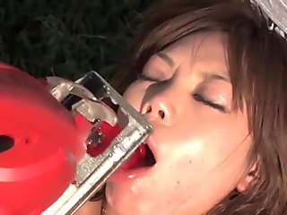 Amazing Japanese chick in Crazy Outdoor, BDSM JAV video