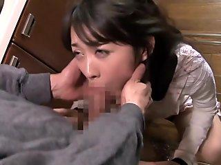 Hottest Japanese whore in Incredible Blowjob, HD JAV scene