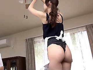 Amazing Japanese slut in Crazy Lingerie, HD JAV video