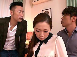 Exotic Japanese chick in Hottest Cuckold, Blowjob JAV video